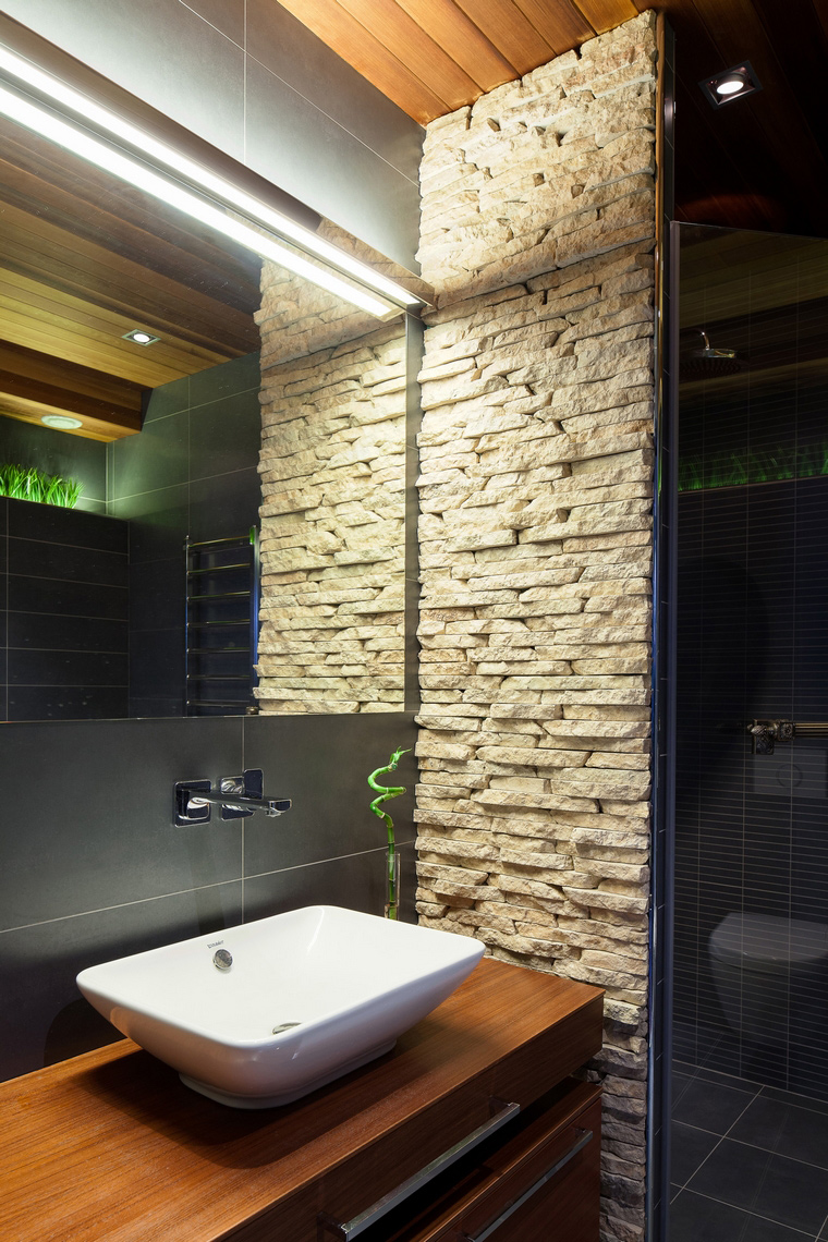 Фото № 40795 ванная  Загородный дом