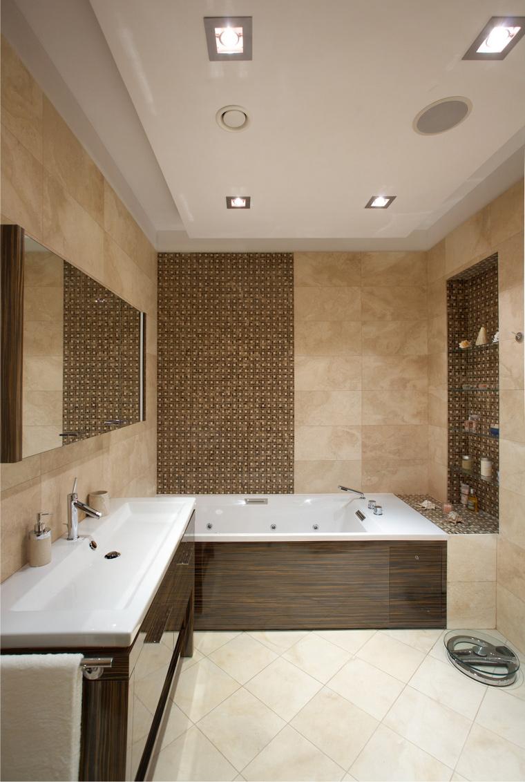 Фото № 40824 ванная  Загородный дом