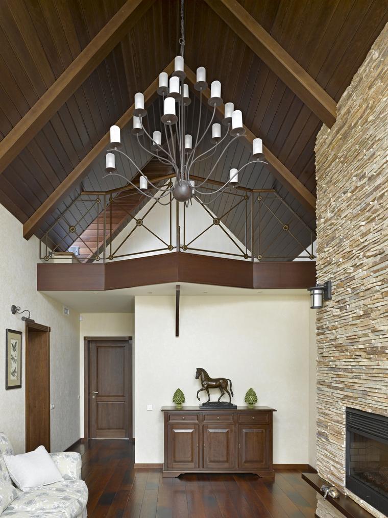 Фото № 41040 гостиная  Загородный дом
