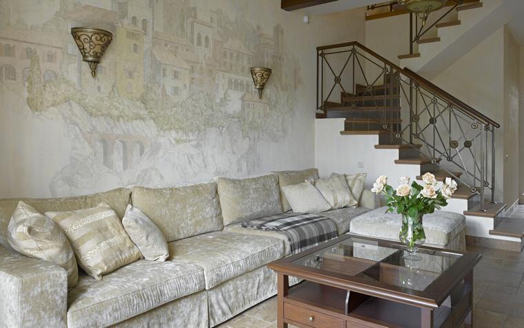 интерьер гостиной - фото № 41035