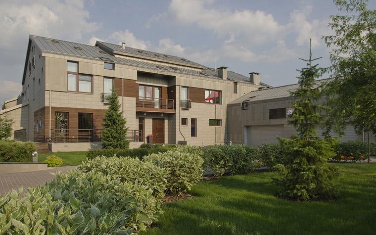 Загородный дом. фасад из проекта , фото №41045