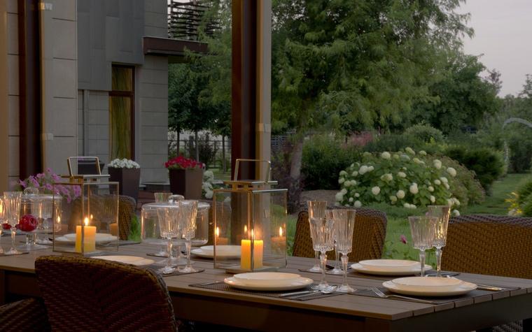 Загородный дом. столовая из проекта , фото №41083