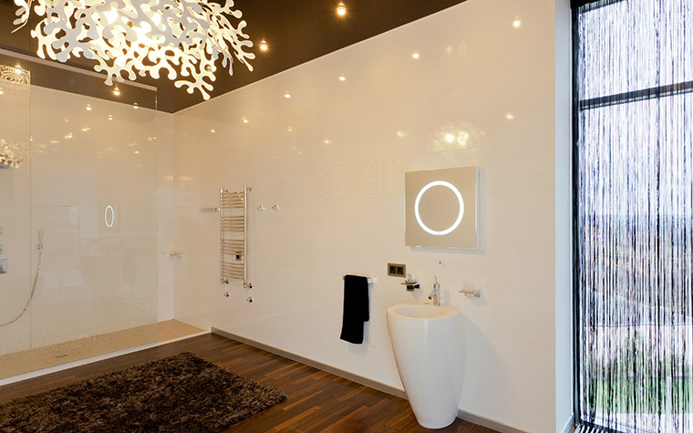 Фото № 41122 ванная  Загородный дом