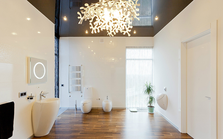 Фото № 41125 ванная  Загородный дом