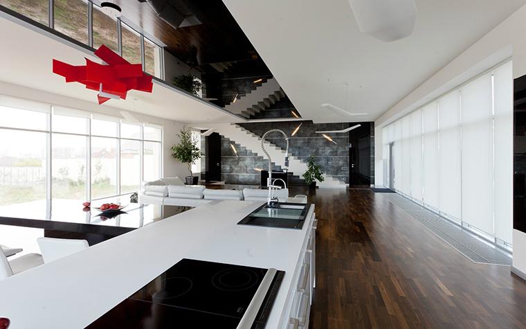 Загородный дом. кухня из проекта , фото №41136