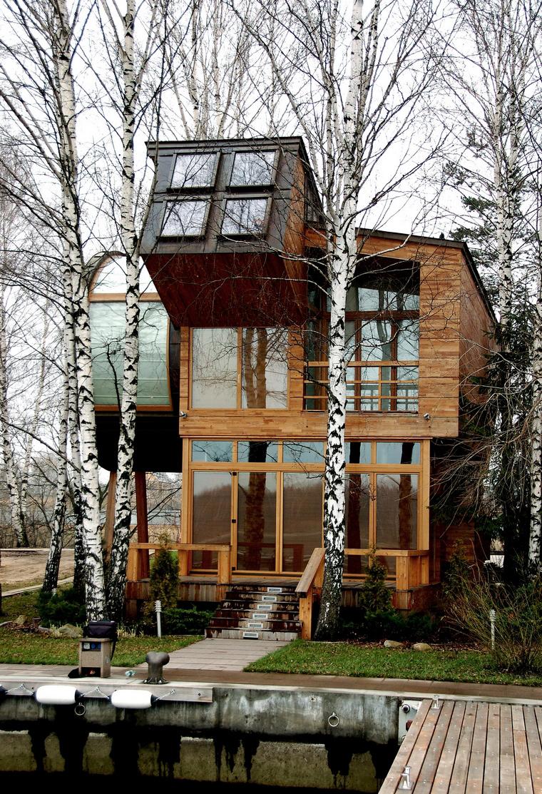 Загородный дом. фасад из проекта , фото №41103