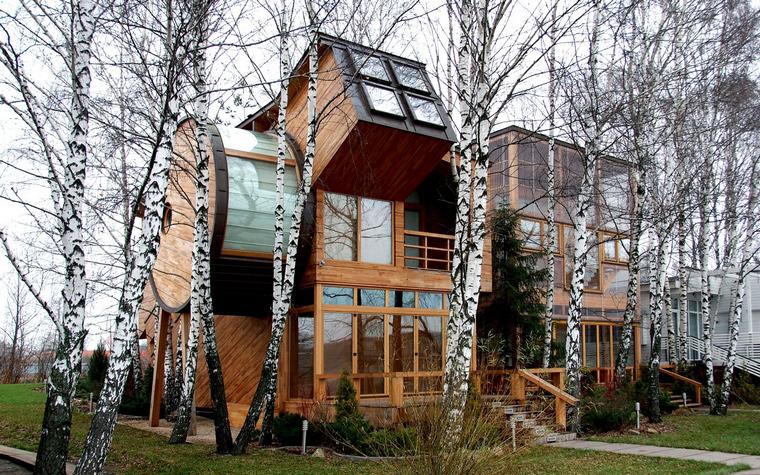 Загородный дом. фасад из проекта , фото №41104