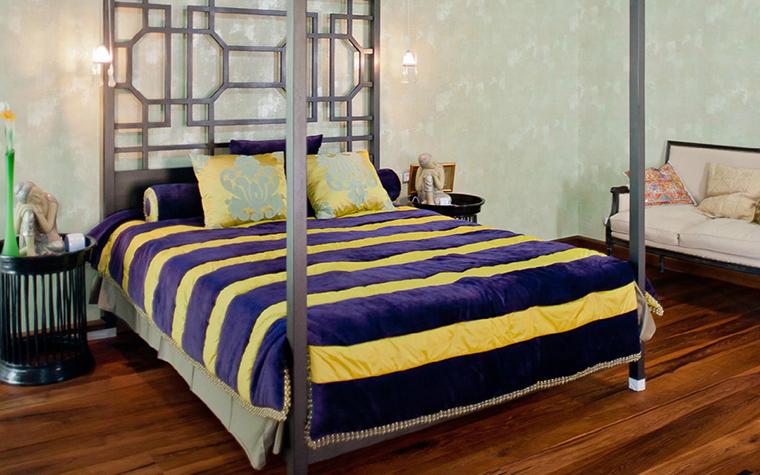 интерьер спальни - фото № 41140