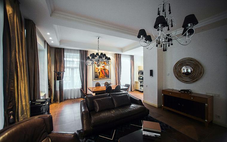 интерьер гостиной - фото № 41187