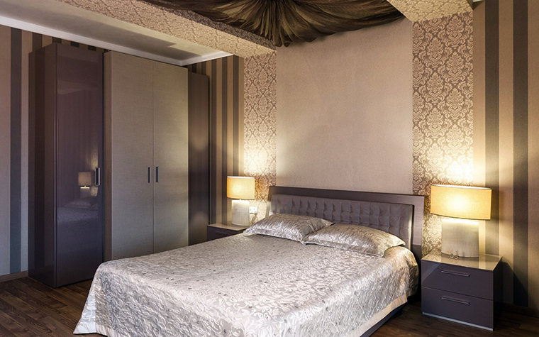 Фото № 41556 спальня  Загородный дом