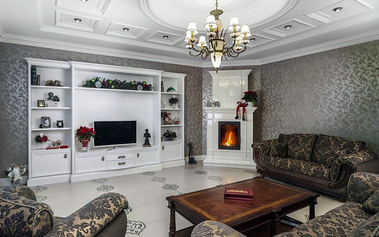 интерьер гостиной - фото № 41542