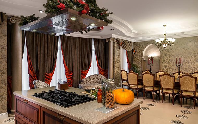 Фото № 41540 кухня  Загородный дом