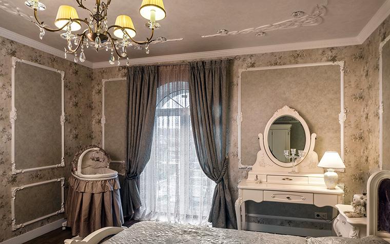 Фото № 41555 спальня  Загородный дом