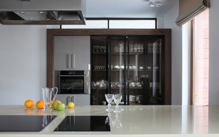 Фото № 41936 кухня  Загородный дом
