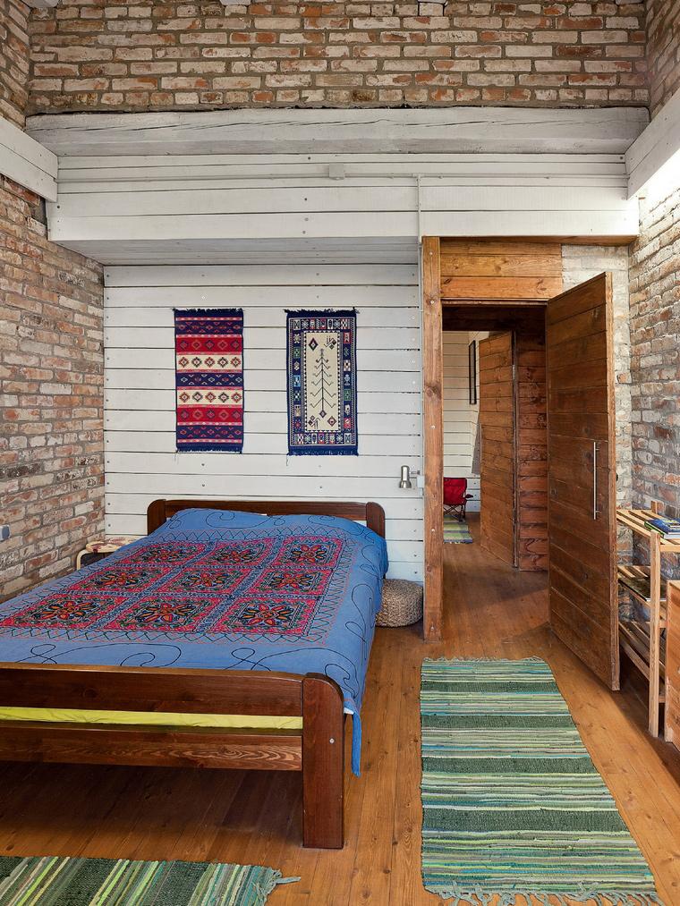 Фото № 42227 спальня  Загородный дом