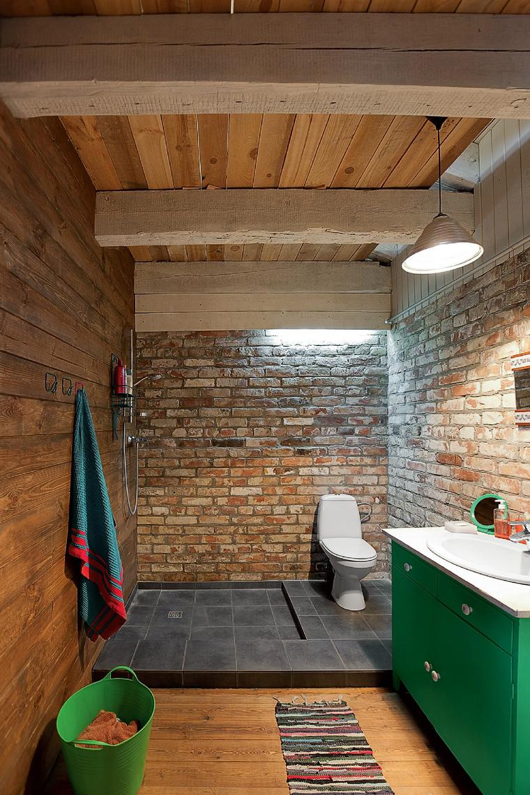 Фото № 42229 ванная  Загородный дом