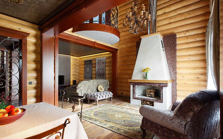 Фото № 42266 гостиная  Загородный дом