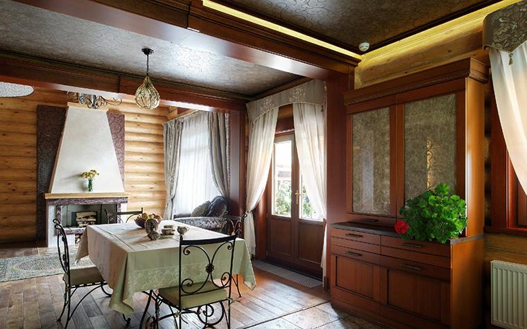 Загородный дом. столовая из проекта , фото №42274