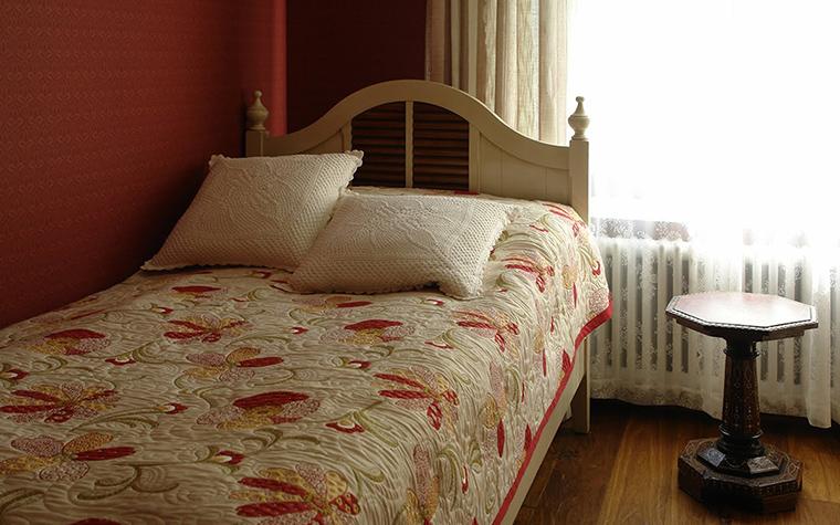 Фото № 42429 спальня  Загородный дом