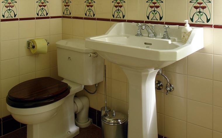 Фото № 42422 ванная  Загородный дом