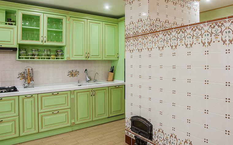Фото № 42469 кухня  Загородный дом