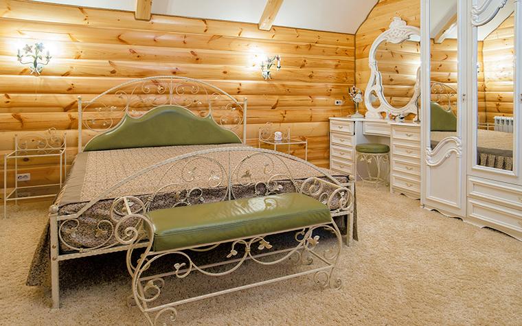 Фото № 42472 спальня  Загородный дом