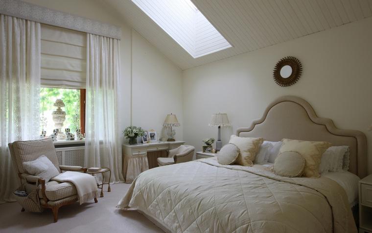 Фото № 48412 спальня  Загородный дом