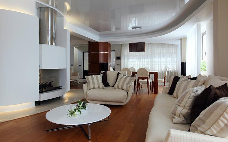 интерьер гостиной - фото № 42836