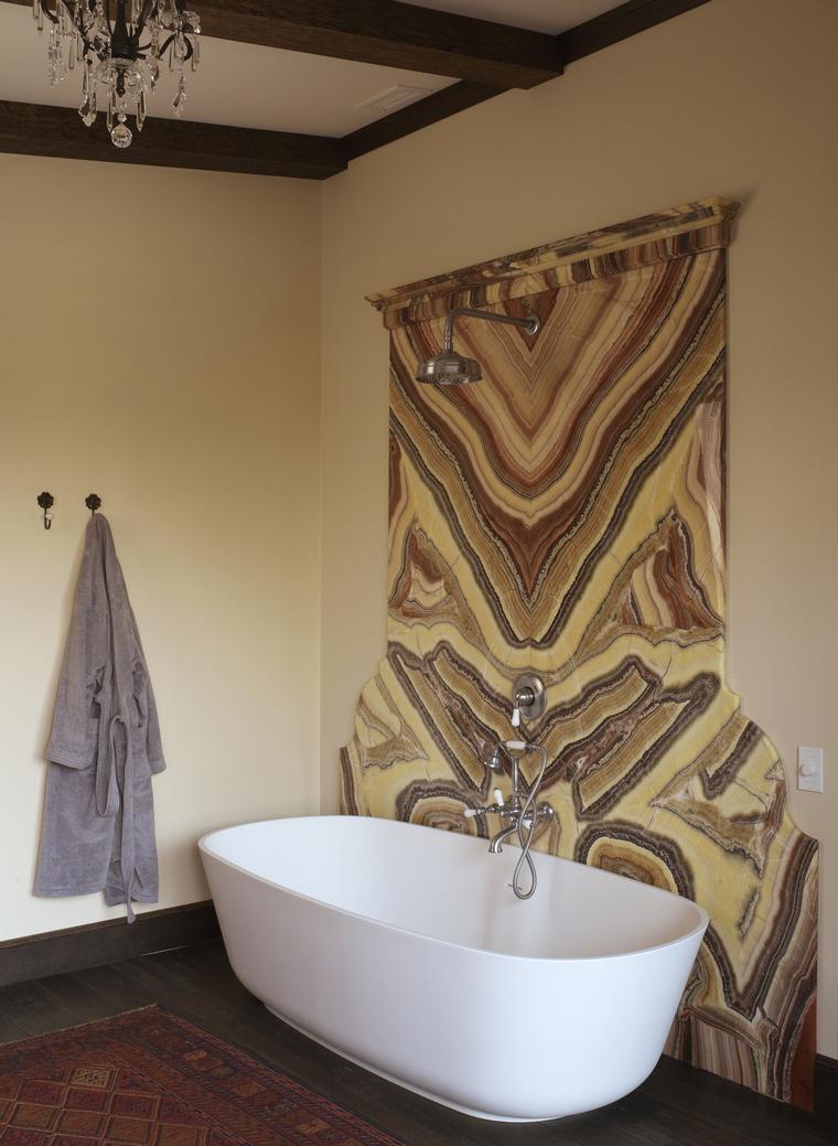 Разрисованные стены в ванной комнате. Покраска и роспись стен