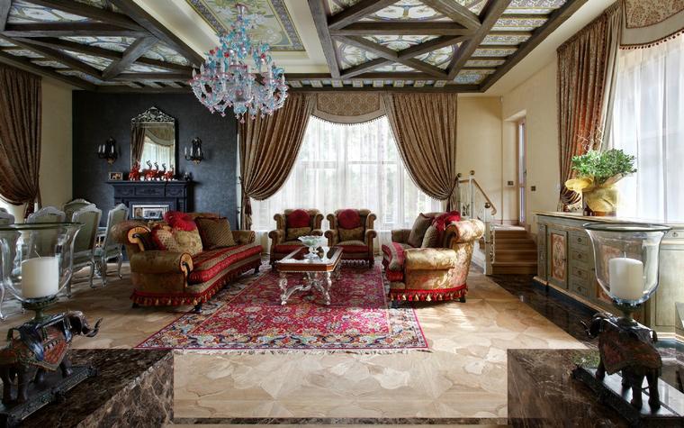 интерьер гостиной - фото № 42955