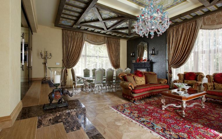 интерьер гостиной - фото № 42956