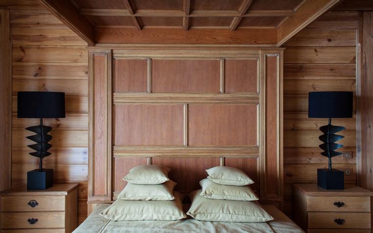 Фото № 43241 спальня  Загородный дом