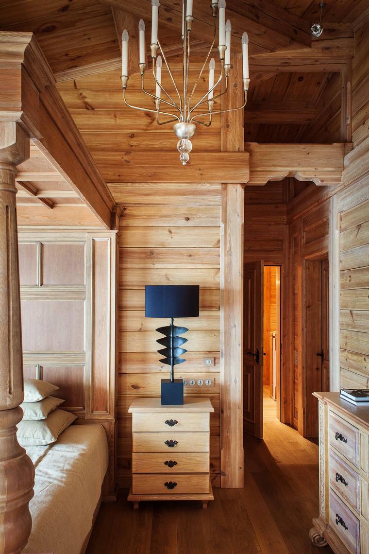 интерьер спальни - фото № 43242
