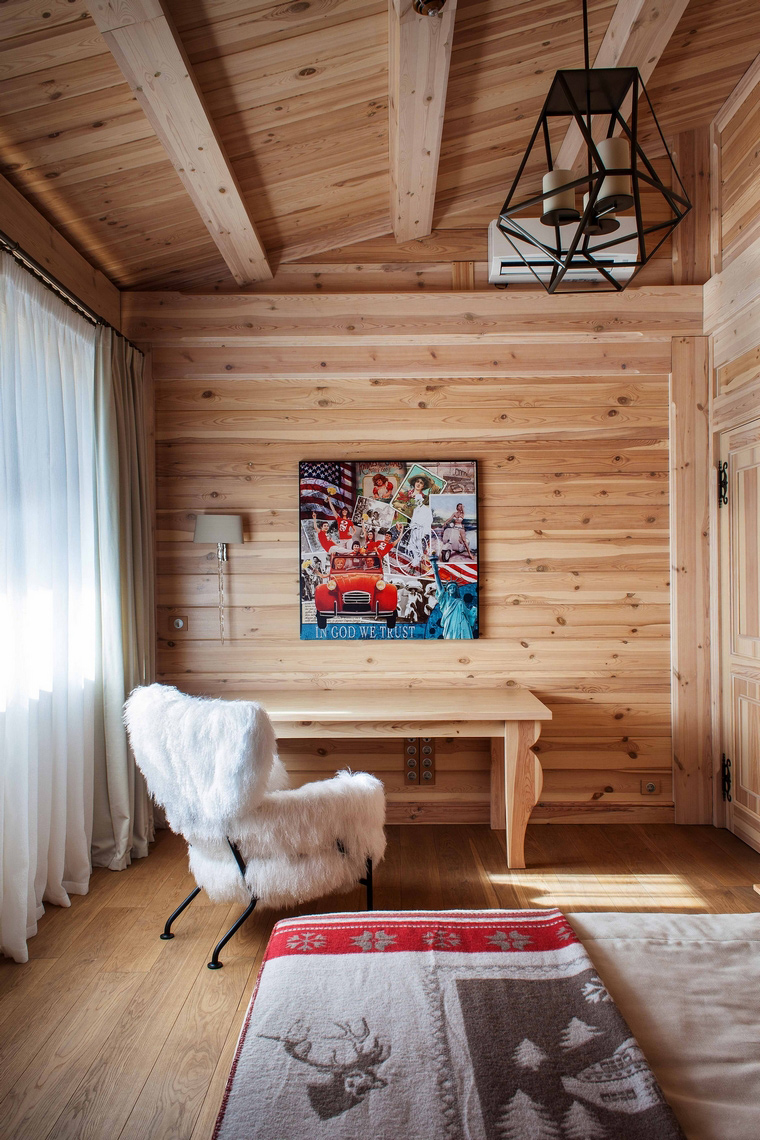 интерьер спальни - фото № 43243