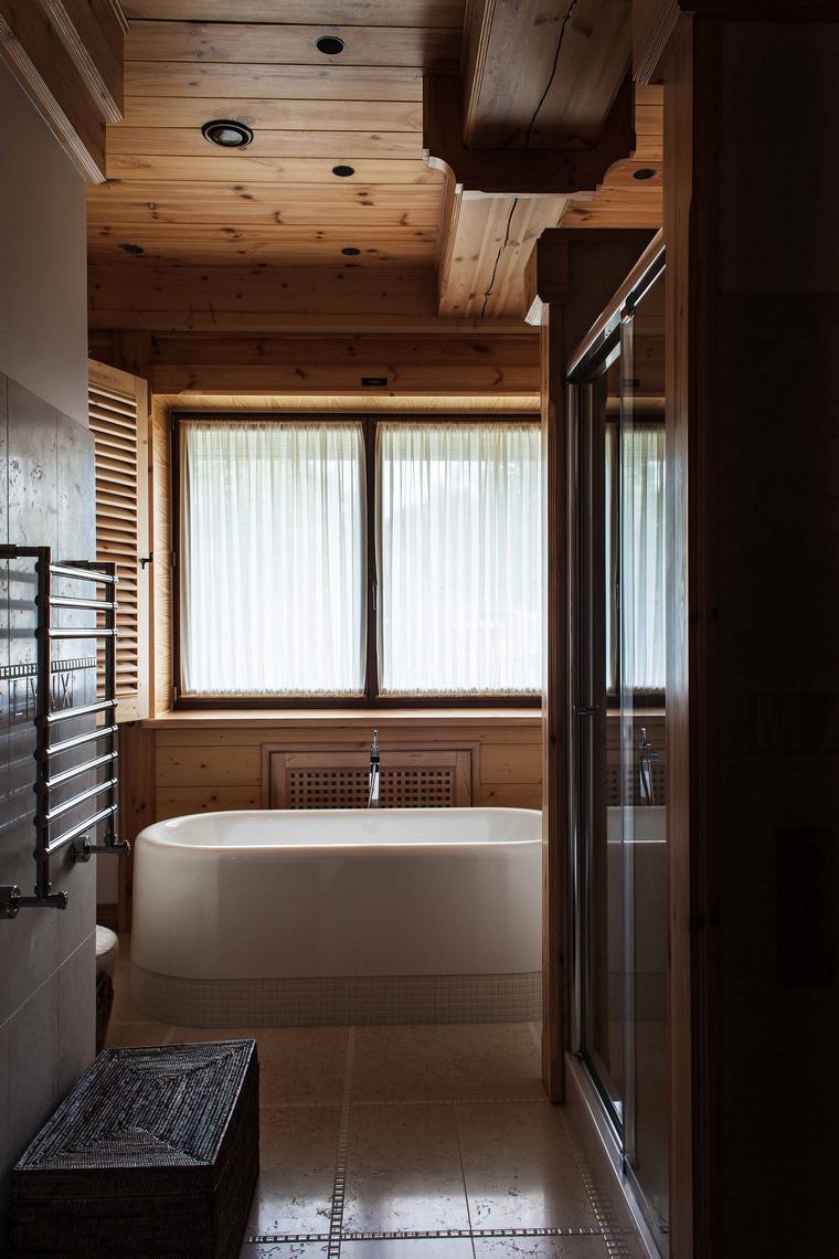 Фото № 43244 ванная  Загородный дом