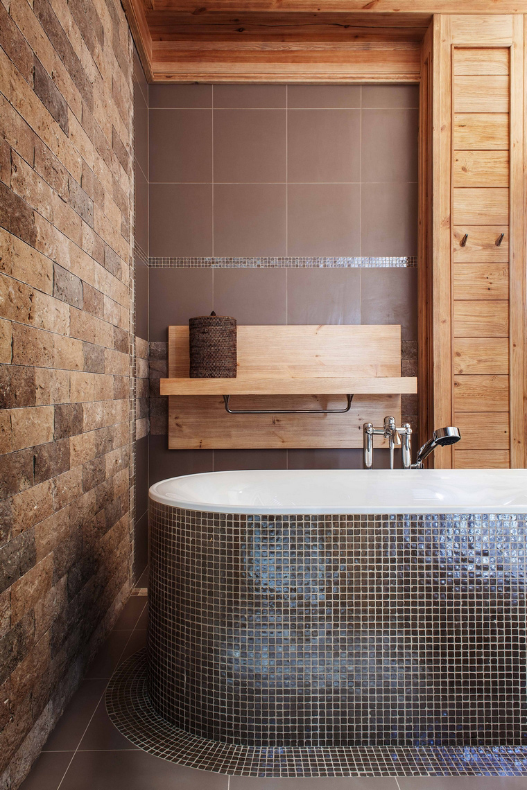 Фото № 43247 ванная  Загородный дом