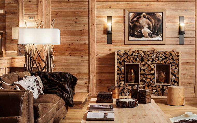 интерьер гостиной - фото № 43222