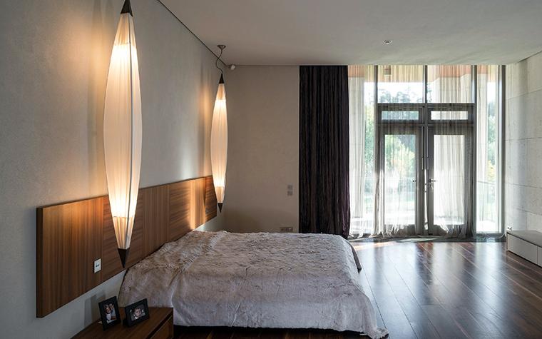 Загородный дом. спальня из проекта , фото №43812