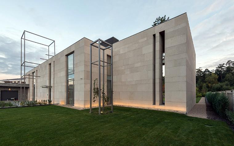 Загородный дом. фасад из проекта , фото №43802
