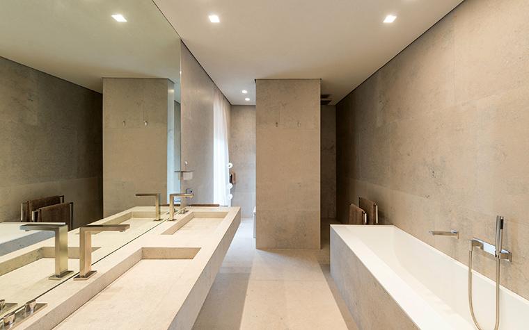 Загородный дом. ванная из проекта , фото №43808