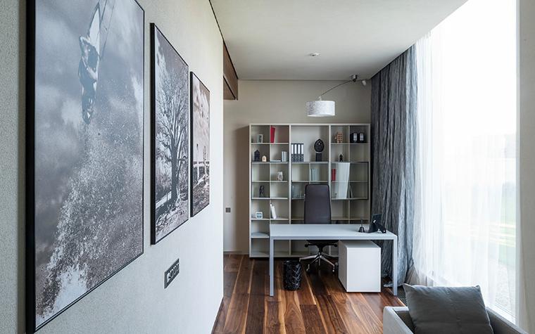Загородный дом. кабинет из проекта , фото №43809