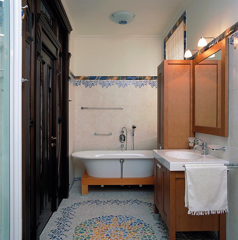 Фото № 44093 ванная  Загородный дом