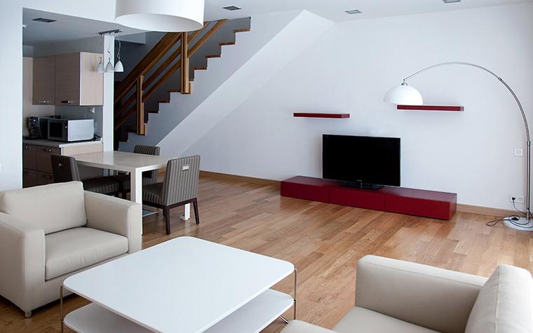Загородный дом. гостиная из проекта , фото №44475