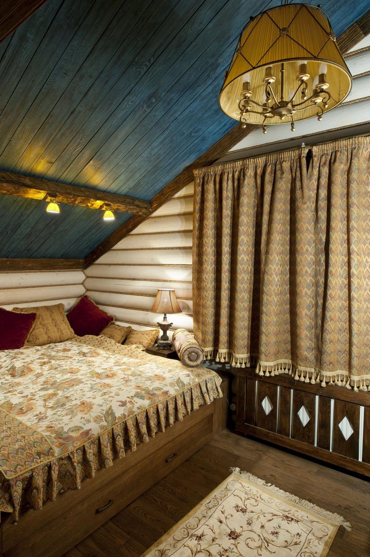 Загородный дом. спальня из проекта , фото №44687