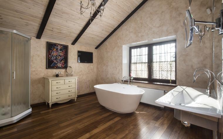 Фото № 45088 ванная  Загородный дом