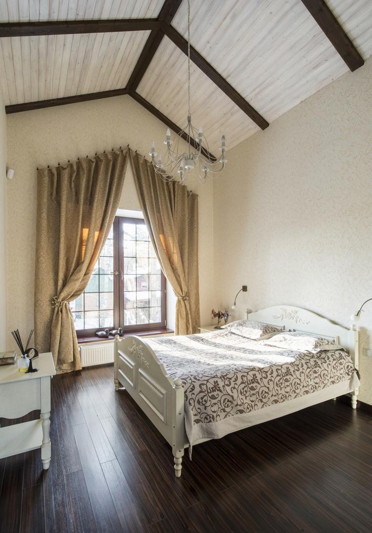 Фото № 45099 спальня  Загородный дом