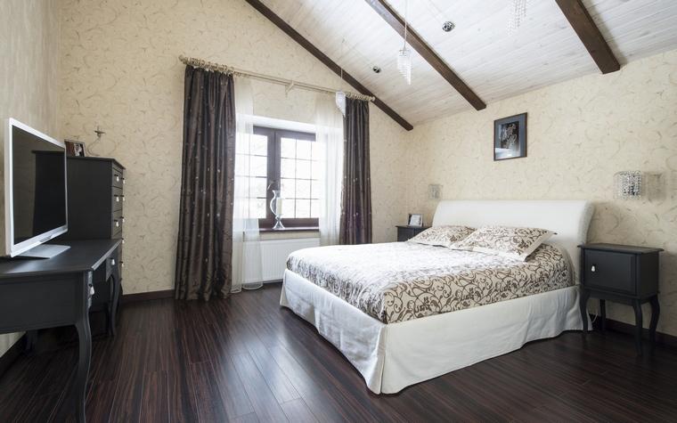 Фото № 45100 спальня  Загородный дом