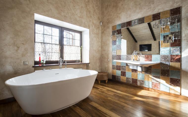 Фото № 45087 ванная  Загородный дом