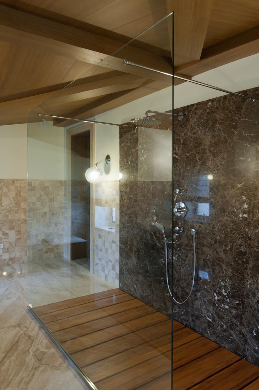 Загородный дом. ванная из проекта , фото №45031