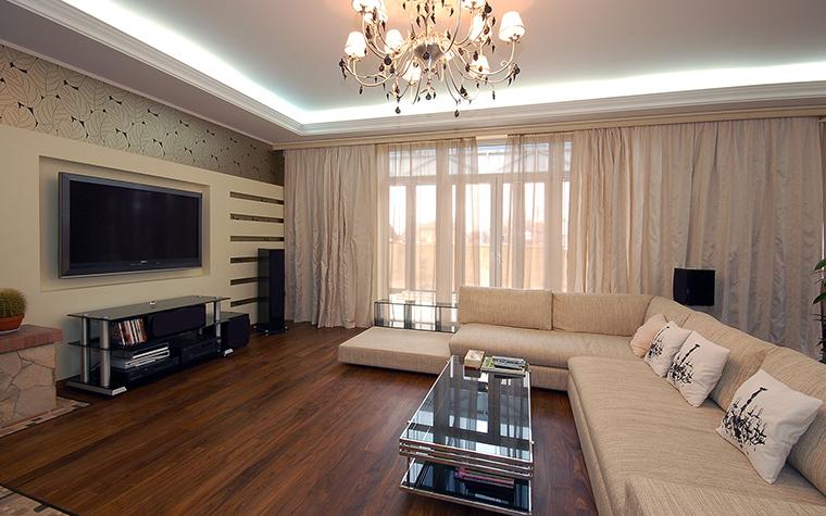 интерьер гостиной - фото № 45529